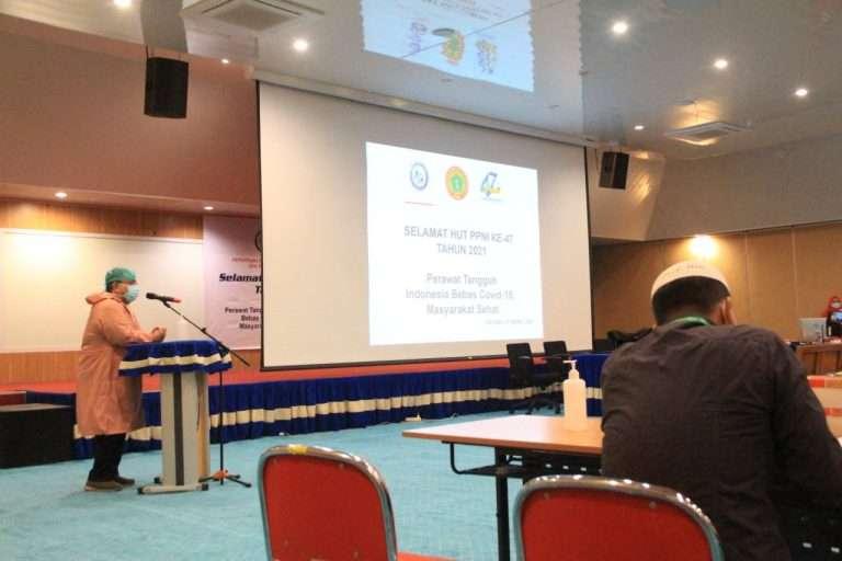HUT ke 74, DPK PPNI RSUP Dr. M. Djamil Laksanakan Edukasi dan Vaksinasi Covid-19