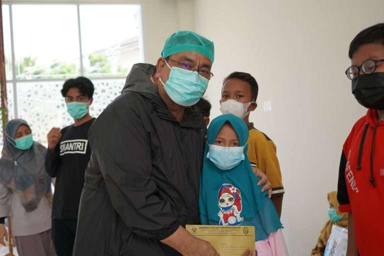 Tali Asih untuk Sesama, 32 Anak Yatim-Piatu Terima Santunan