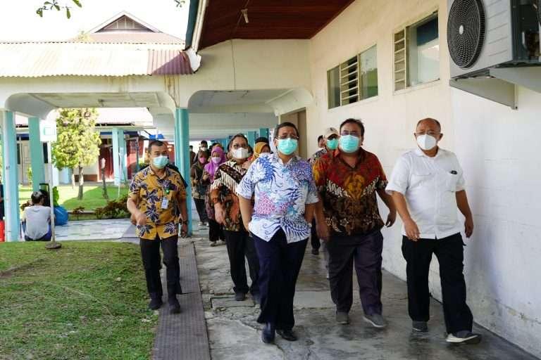 Kunjungan Kerja Sesditjen Kemenkes RI ke RSUP Dr M Djamil Padang