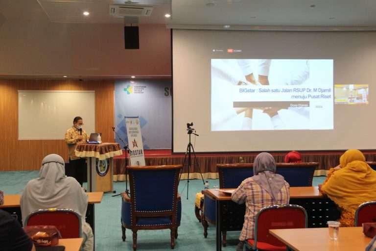 Inovasi Data Penelitian, RSUP Dr M Djamil Padang Hadirkan Aplikasi BIGSTAR