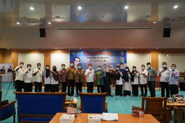 Kunjungan Biro Hukor dan Koordinator Hukormas Yankes Kementerian Kesehatan RI